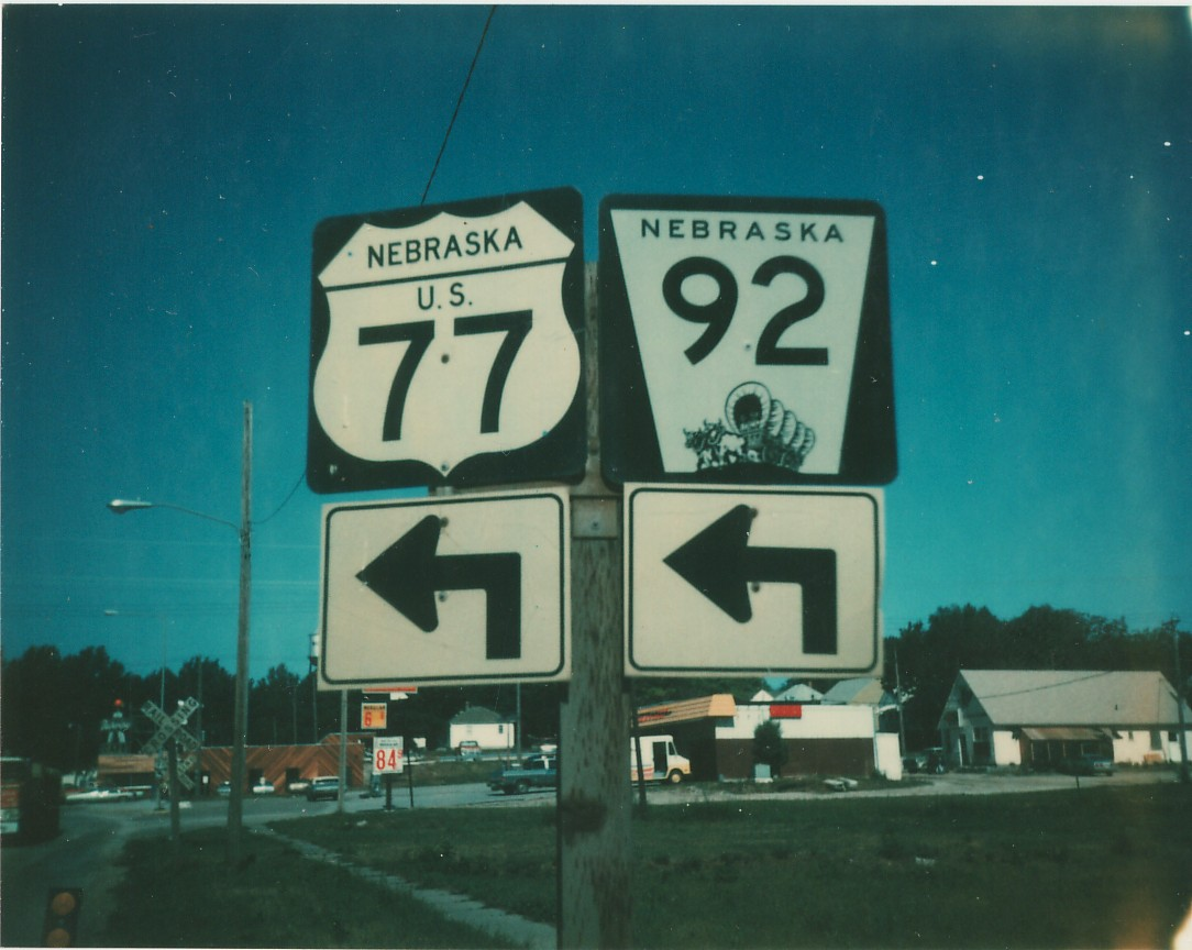Nebraska Roads  Saunders County Photos