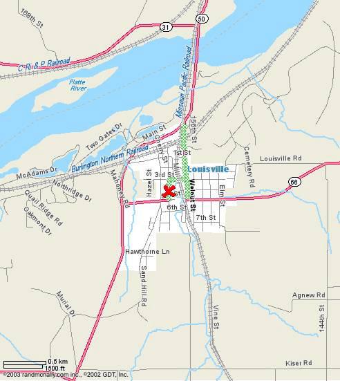 Nebraska Roads NE 66 Termini
